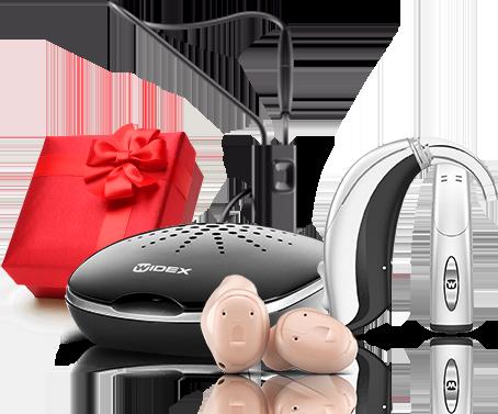 Подарки за покупку слуховых аппаратов