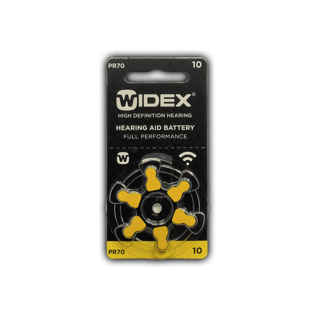 Батарейки Widex Zinc-Air 10 pr70 (blister)