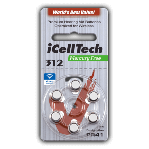 iCellTech Mercury Free  312 (blister)