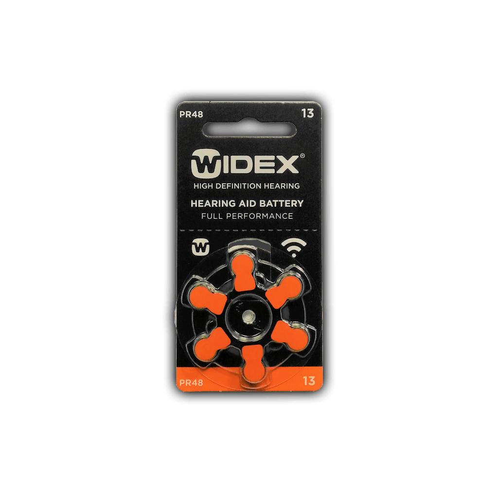 Батарейки Widex Zinc-Air 13 pr48 (blister)