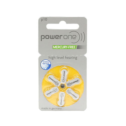 Батарейки Power One p10 MERCURY-FREE (blister)