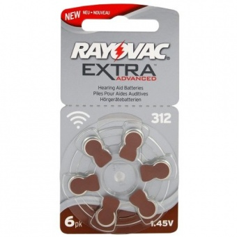 Rayovac Extra Advanced 312 (blister)